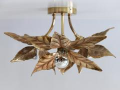 Willy Daro Large Mid Century Modern Ceiling Fixture or Wall Lamp by Willy Daro for Massive - 1801415