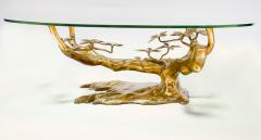 Willy Daro Massive Brass Coffee Table in the Style of Willy Daro Belgium 1970s - 986693