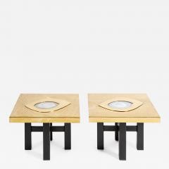 Willy Daro Pair of Side Tables by Willy Daro - 795262