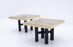 Willy Daro Pair of side tables by Willy Daro - 789961