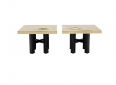 Willy Daro Pair of side tables by Willy Daro - 789962