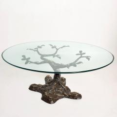 Willy Daro Willy Daro Contemporary Postmodern Bronze Bonsai Tree Coffee Table Mid Century - 1181128