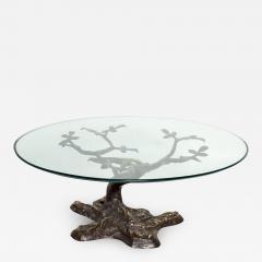 Willy Daro Willy Daro Contemporary Postmodern Bronze Bonsai Tree Coffee Table Mid Century - 1181472