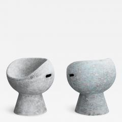 Willy Guhl CEMENT POD CHAIRS BY WILLY GUHL - 1724277