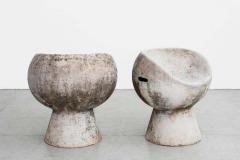Willy Guhl CEMENT POD CHAIRS BY WILLY GUHL - 1787008