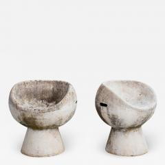 Willy Guhl CEMENT POD CHAIRS BY WILLY GUHL - 1791256
