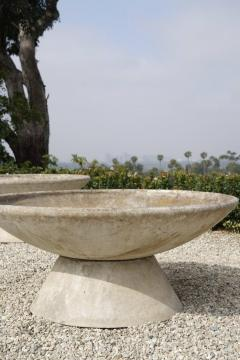 Willy Guhl LARGE WILLY GUHL CONCRETE PLANTER WITH STAND - 2021212
