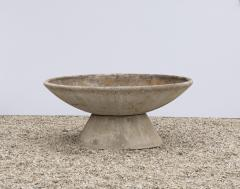 Willy Guhl LARGE WILLY GUHL CONCRETE PLANTER WITH STAND - 2021219