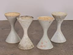 Willy Guhl Set of Four Small Diabolo Planters by Willy Guhl - 1037152