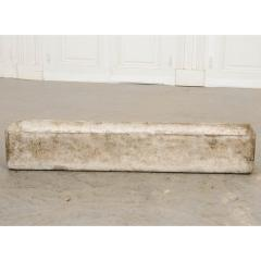 Willy Guhl Set of Three Swiss 20th Century Rectilinear Stone Planters by Willy Guhl - 1782561