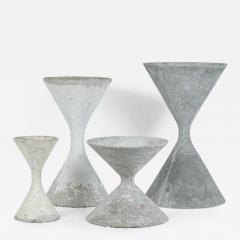 Willy Guhl Willy Guhl Hourglass Planters - 291408