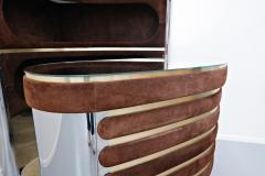 Willy Rizzo Bar Cabinet By Willy Rizzo Italy 1970s - 1846517