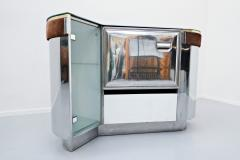 Willy Rizzo Bar Cabinet By Willy Rizzo Italy 1970s - 1846523
