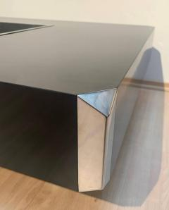 Willy Rizzo Coffee Sofa Table Alveo by Willy Rizzo for Mario Sabot Italy 1970s - 1781354