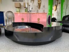 Willy Rizzo Coffee Table Large TRG by Willy Rizzo Italy 1970s - 953013