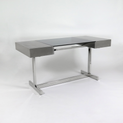 Willy Rizzo Desk in brushed steel - 973517
