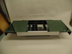 Willy Rizzo Expandable Italian Mid Century Modern Coffee Table by Willy Rizzo for Cidue 1970 - 1722697