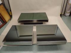 Willy Rizzo Italian Mid Century Expandable Coffee Table Pair of End Tables by Willy Rizzo - 1770257