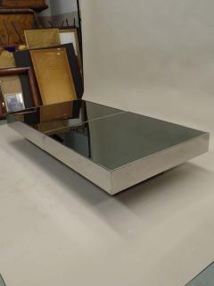 Willy Rizzo Large Two Part Italian Mid Century Modern Coffee Table by Willy Rizzo for Cidue - 1722690