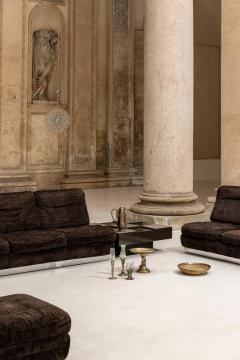 Willy Rizzo Living Room Set Two Sofas Two Armchairs and One Coffee Table - 1835072