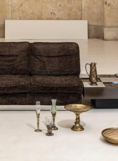 Willy Rizzo Living Room Set Two Sofas Two Armchairs and One Coffee Table - 1835089