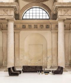 Willy Rizzo Living Room Set Two Sofas Two Armchairs and One Coffee Table - 1835111