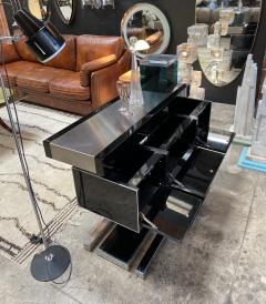 Willy Rizzo Mid Century Modern Italian Dry Bar by Willy Rizzo 1970s - 1536025