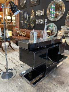 Willy Rizzo Mid Century Modern Italian Dry Bar by Willy Rizzo 1970s - 1536031