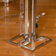Willy Rizzo Pair of Brass and Chrome Floor Lamps - 68378