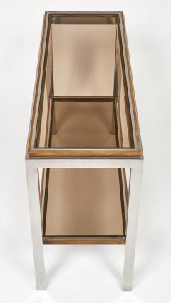 Willy Rizzo Pair of Console Tables by Willy Rizzo - 594331