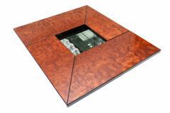 Willy Rizzo Rizzo Burl Bar Coffee Table - 265974