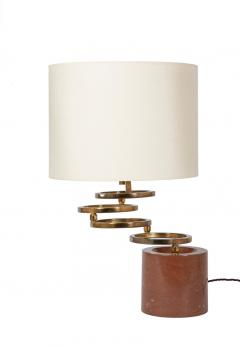 Willy Rizzo Swivelling ring lamp - 1160624