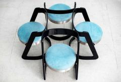 Willy Rizzo WILLY RIZZO CHAIRS SET OF 4 - 1644075