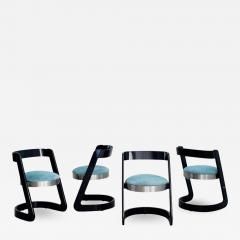 Willy Rizzo WILLY RIZZO CHAIRS SET OF 4 - 1645461