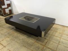 Willy Rizzo Willy Rizzo Alveo Coffee Cocktail Table with Dry Bar by Mario Sabot - 1532809