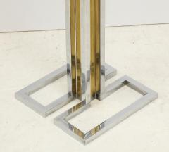 Willy Rizzo Willy Rizzo Brass And Chrome Floor Lamp - 1977799