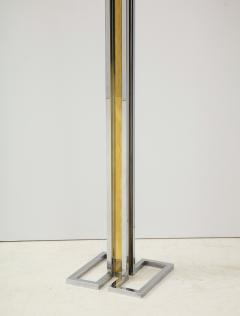 Willy Rizzo Willy Rizzo Brass And Chrome Floor Lamp - 1977804