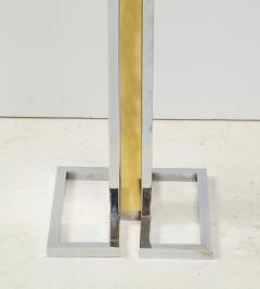 Willy Rizzo Willy Rizzo Brass And Chrome Floor Lamp - 1977815