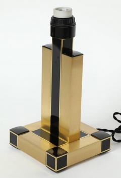 Willy Rizzo Willy Rizzo Brass Black Lamps - 871036