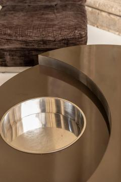 Willy Rizzo Willy Rizzo Revolving Coffee Table - 1835081