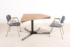 Willy Van der Meeren Rare Table by Willy Van Meeren for the HBK Bank Building 1967 - 1247632