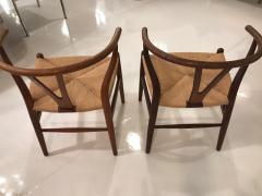 Wishbone chairs - 1252341