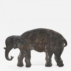 Wm F Mangels Cast Iron Elephant Carnival Arcade Shooting Gallery Target - 235169