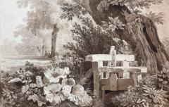 Wolfgang Adam Topffer Figures amongst the Flora  - 1175537