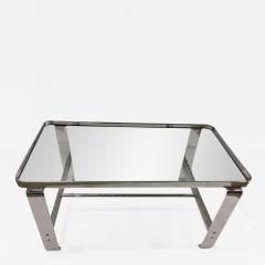 Wolfgang Hoffmann Wolfgang Hoffmann Coffee Table with Glass Shelves c 1930 - 665450