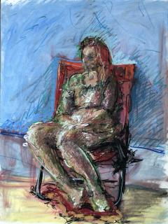 Woman In The Chair - 1066138