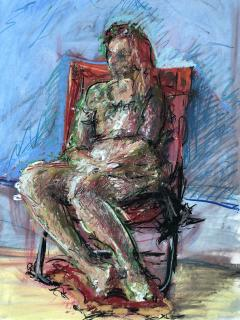 Woman In The Chair - 1066139