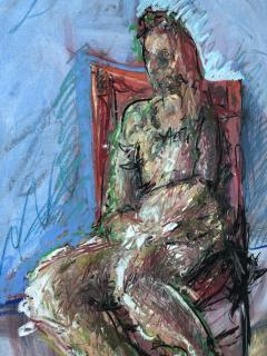 Woman In The Chair - 1066140