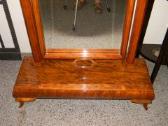 Wonderful Art Deco Standing Mirror with Honduras Mahogany Wood - 118089