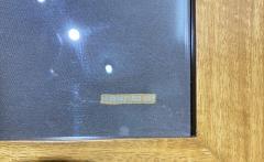Wonderful Pancaldi Framed Silk Scarf Typical Art Deco Style - 2086010